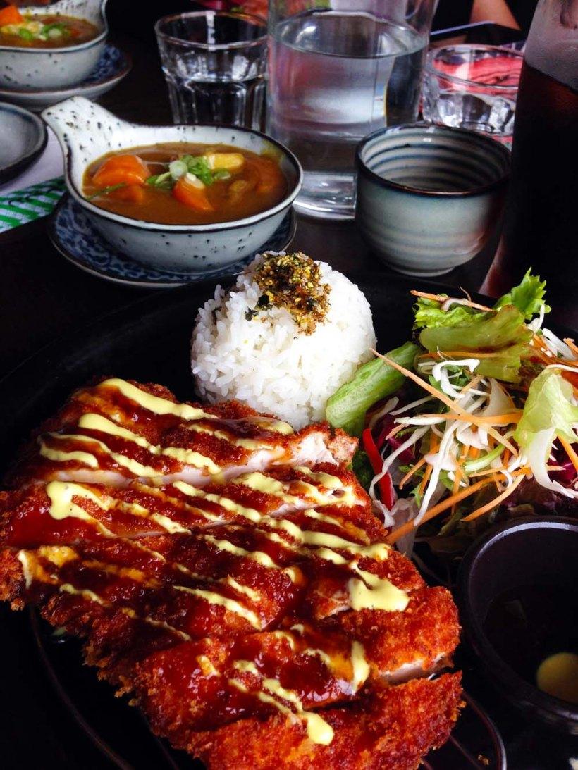 Chicken katsu, Mira Restaurant, Manly