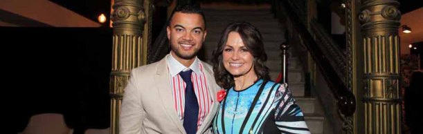 Guy Sebastian and Lisa Wilkinson #Canonshine
