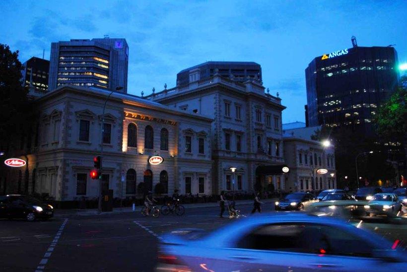 The gorgeous old Treasury Adina Apartment Hotel, Adelaide.