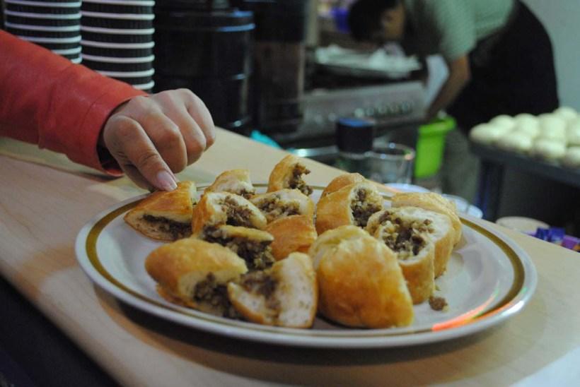 Pirosjki, a baked treat from Khazaktan.