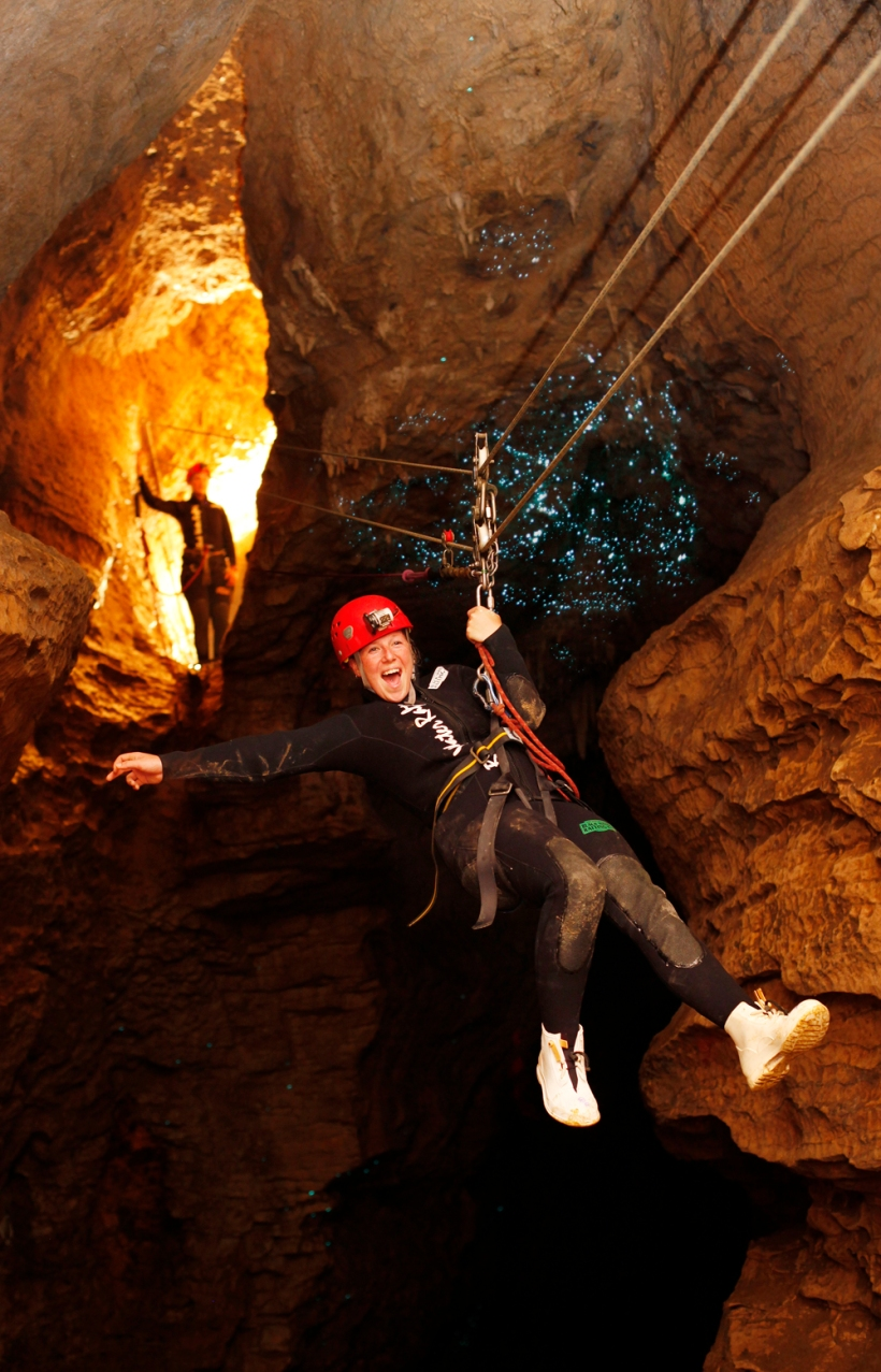 Black Abyss, Waitamo Caves, New Zealand