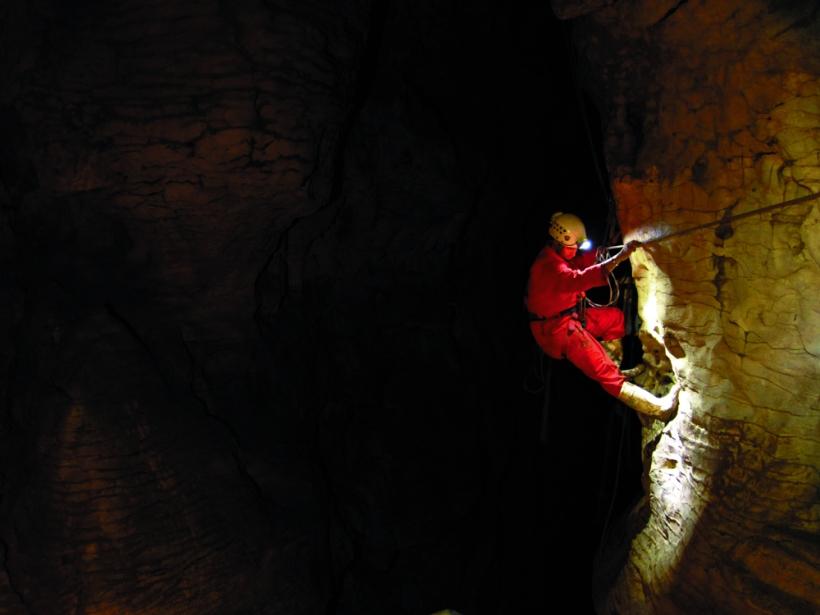 Black Odyssey, Waitamo Caves, New Zealand