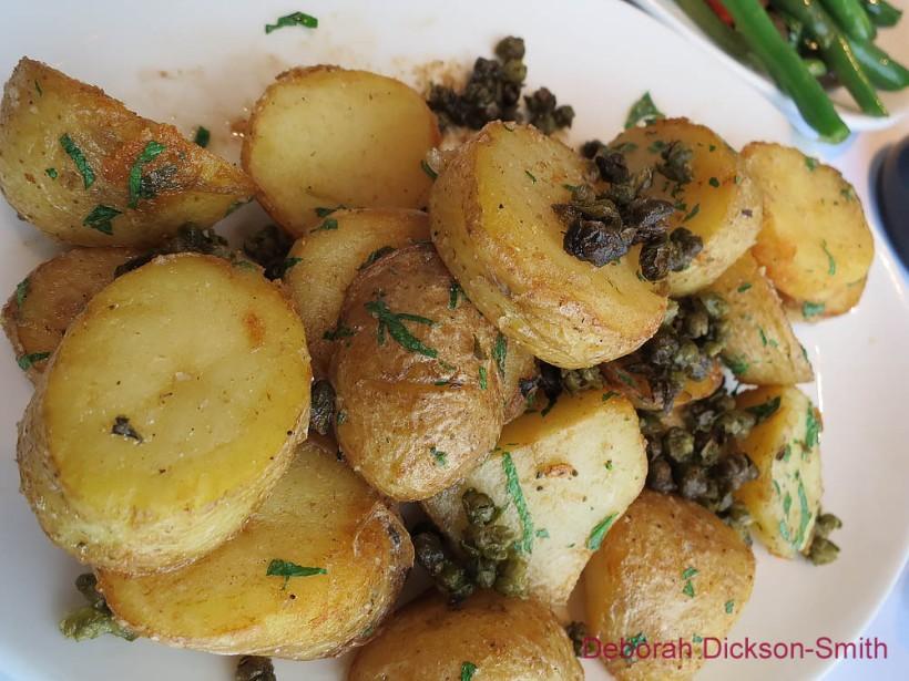 Rosemary potatoes at Bacar