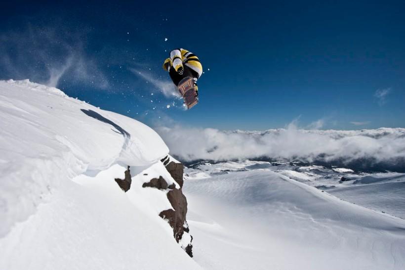 Ski Mt Ruapehu, New Zealand