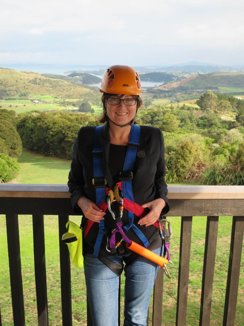 Waiheke eco zip, New Zealand