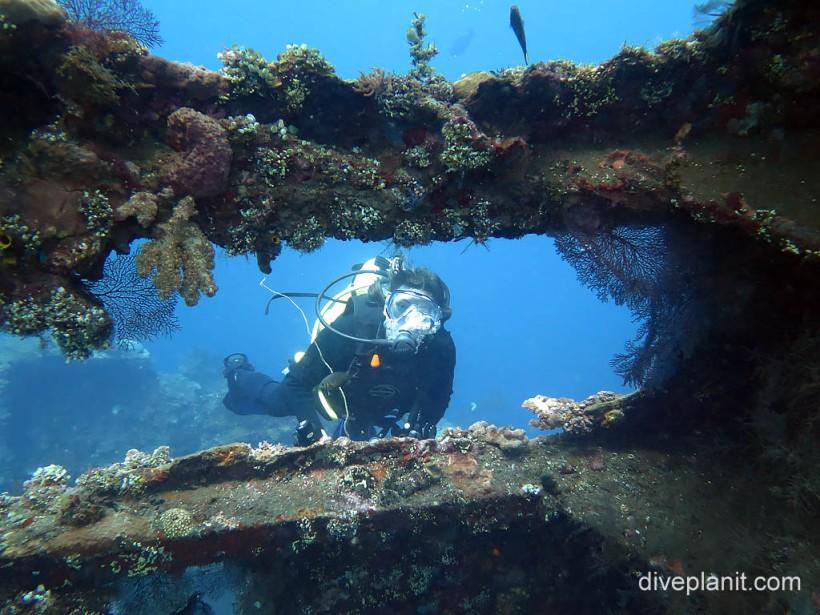 USAT Liberty shipwreck, Tulamben Bay, Bali.