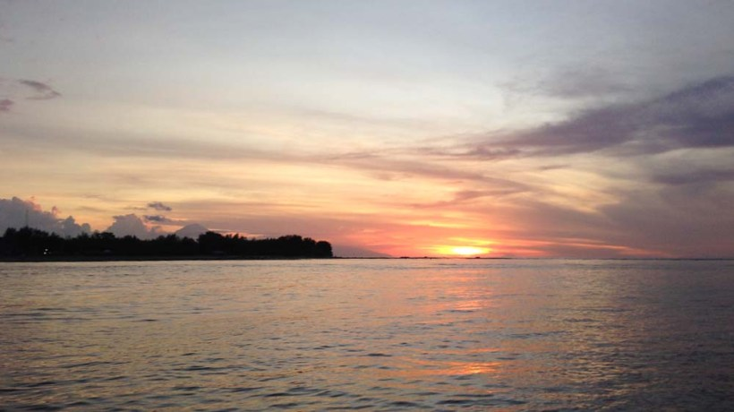 Sunset Cruise Reef Resort Gili Meno